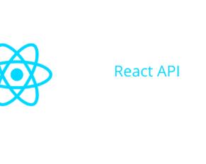 React API
