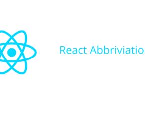 React Abbreviation