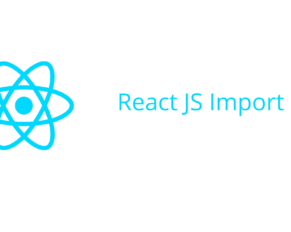React JS Import