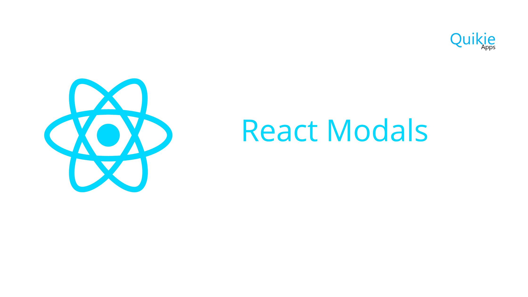 React Modals