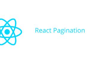 React Pagination