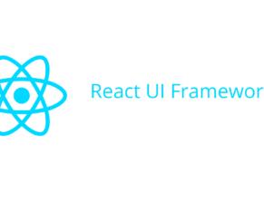 React UI Framework