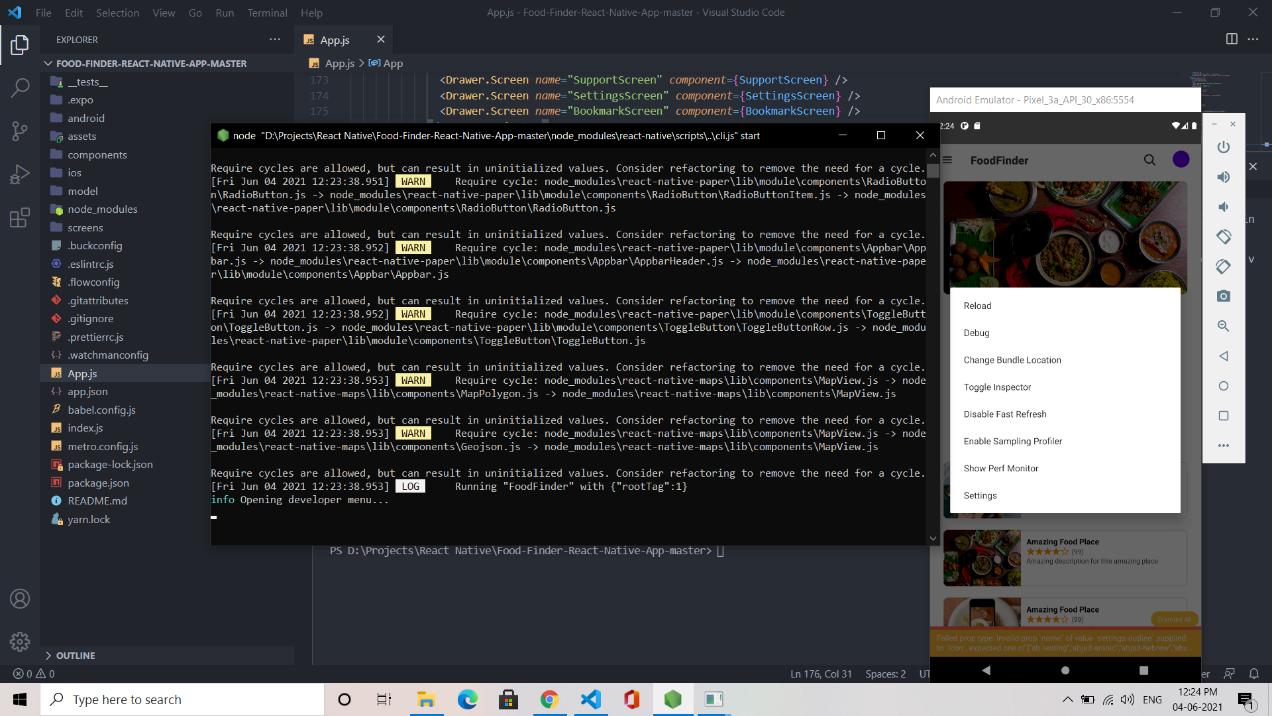 React native debugger
