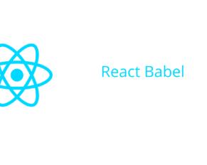 React Babel