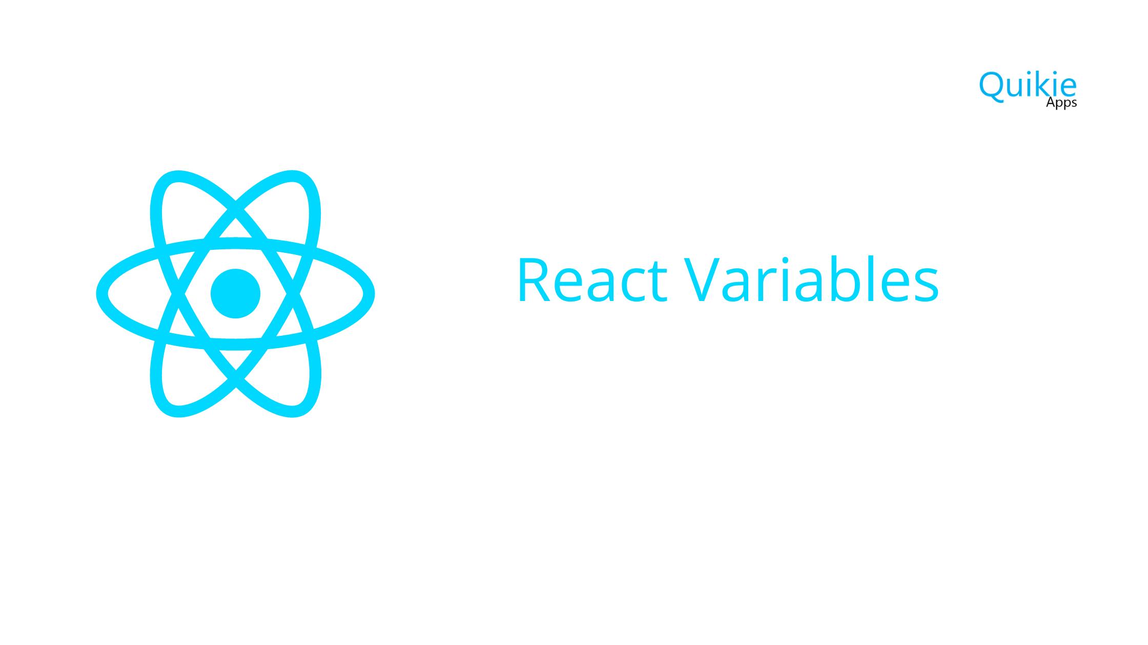 React Variables