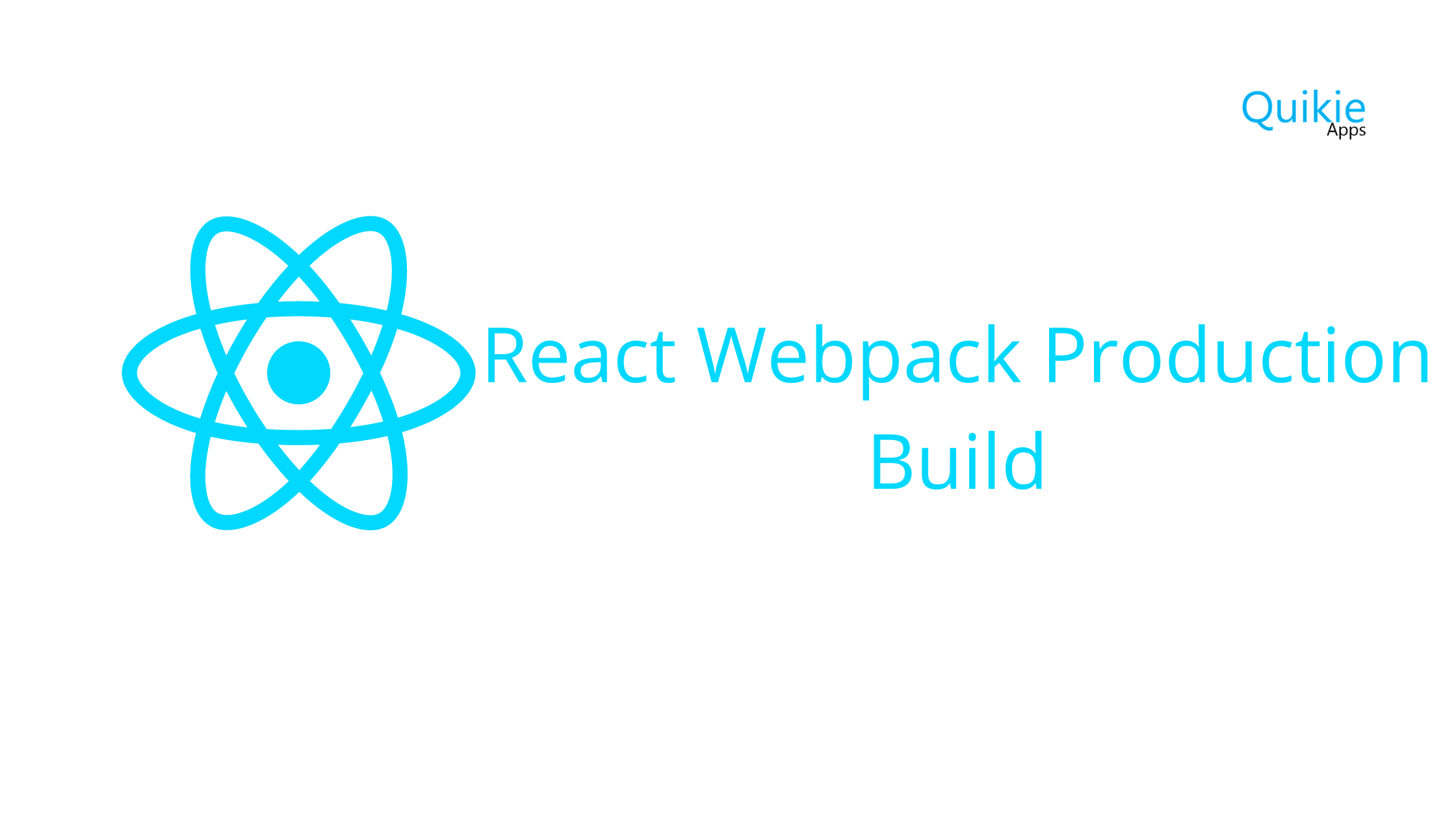 React Webpack Production Build