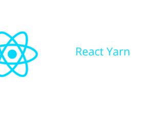 React Yarn
